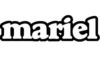 Mariel panda logo