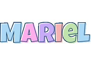 Mariel pastel logo