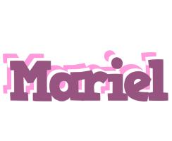 Mariel relaxing logo