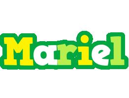 Mariel soccer logo