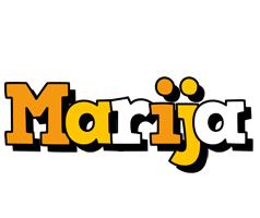 Marija cartoon logo
