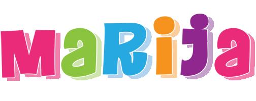 Marija friday logo