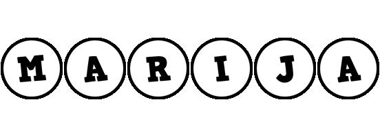 Marija handy logo