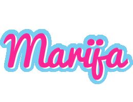 Marija popstar logo