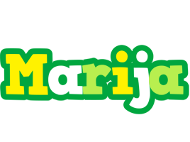 Marija soccer logo