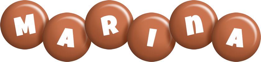 Marina candy-brown logo
