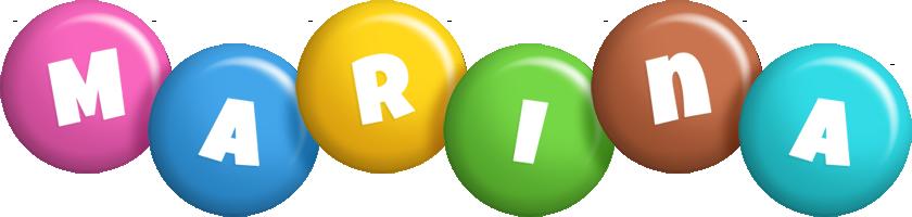 Marina candy logo