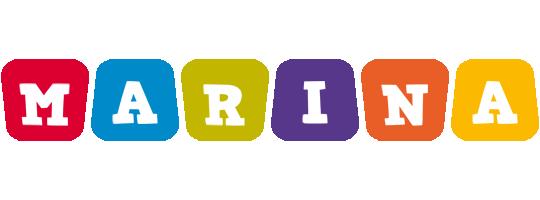 Marina daycare logo