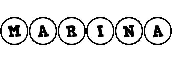 Marina handy logo