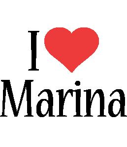 Marina i-love logo