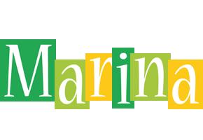 Marina lemonade logo