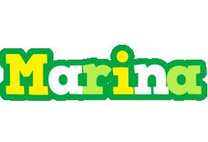Marina soccer logo