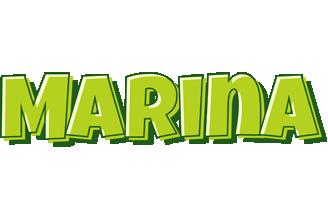 Marina summer logo