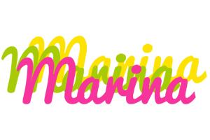 Marina sweets logo