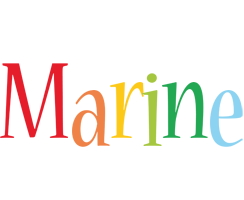 Marine birthday logo