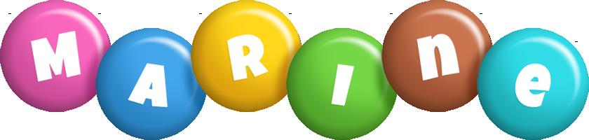 Marine candy logo