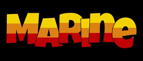 Marine jungle logo