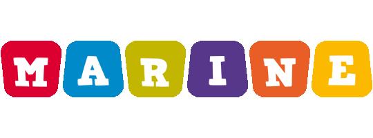 Marine kiddo logo