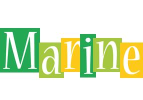 Marine lemonade logo