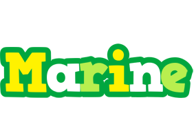 Marine soccer logo