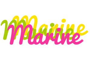 Marine sweets logo