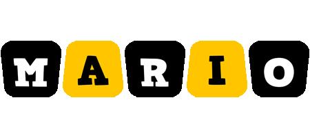 Mario boots logo