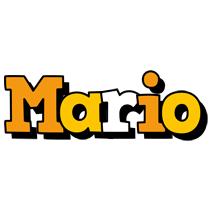 Mario cartoon logo