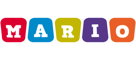 Mario daycare logo
