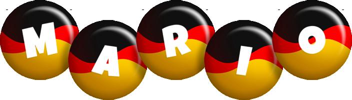 Mario german logo