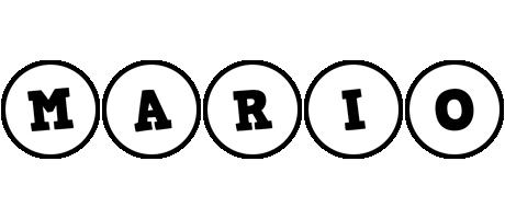 Mario handy logo