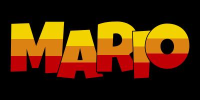 Mario jungle logo