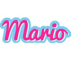 Mario popstar logo