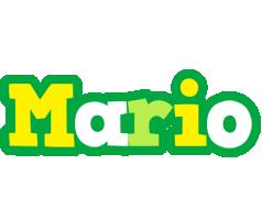 Mario soccer logo