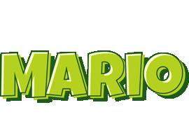 Mario summer logo