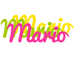 Mario sweets logo