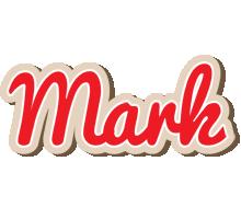 Mark chocolate logo