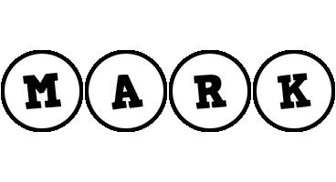 Mark handy logo