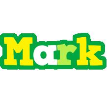 Mark soccer logo