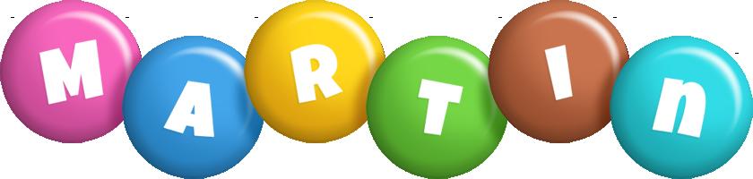 Martin candy logo