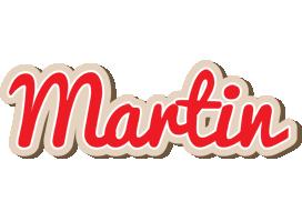 Martin chocolate logo
