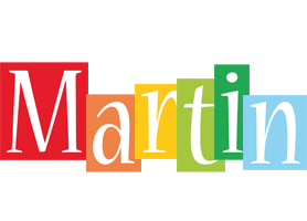 Martin colors logo