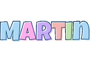 Martin pastel logo
