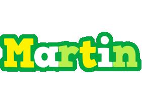 Martin soccer logo
