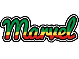 Marvel african logo