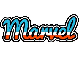 Marvel america logo