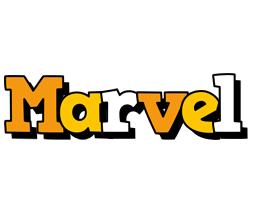 Marvel cartoon logo