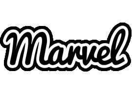 Marvel chess logo