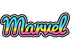 Marvel circus logo