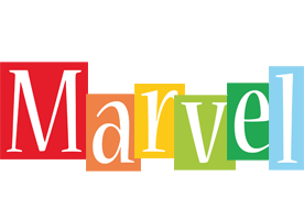 Marvel colors logo
