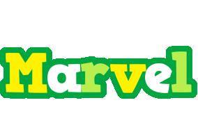 Marvel soccer logo